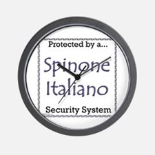 Spinone Security Wall Clock