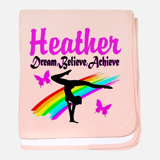 SUPER STAR GYMNAST baby blanket