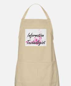 Information Technologist Artistic Job Design Apron