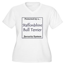 Staffy Security T-Shirt