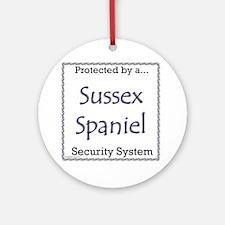 Sussex Security Ornament (Round)