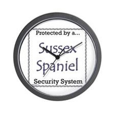 Sussex Security Wall Clock