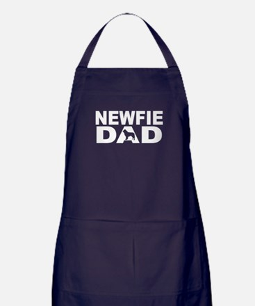 Newfie Dad Apron (dark)