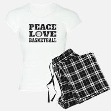 Peace Love Basketball (Distressed) Pajamas