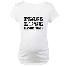 Peace Love Basketball (Distressed) Shirt