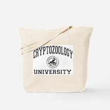 Cryptozoology University Tote Bag