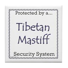 Tibetan Security Tile Coaster