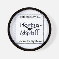 Tibetan Security Wall Clock