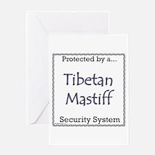 Tibetan Security Greeting Card