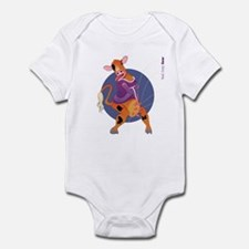 Mad, Crazy Cow Infant Bodysuit