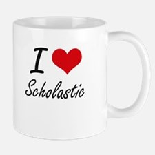 I Love Scholastic Mugs