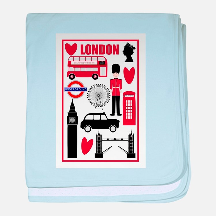 Baby Gift Baskets London England : London underground baby clothes gifts clothing