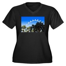 Las Vegas Ferris Wheel Plus Size T-Shirt