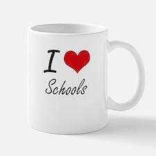 I Love Schools Mugs