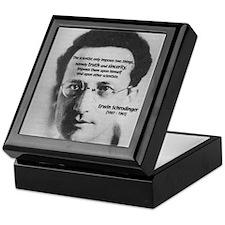 Erwin Schrodinger: Truth Keepsake Box