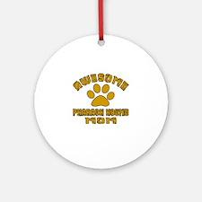 Awesome Pharaoh Hound Mom Dog Desig Round Ornament