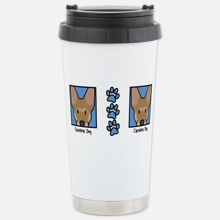 Cute Carolina dogs Travel Mug