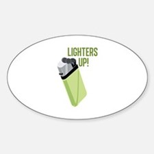 Lighters Up Decal