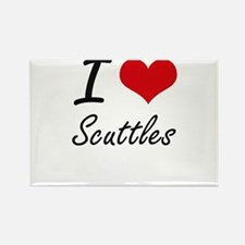 I Love Scuttles Magnets