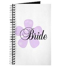 Lilac Flower Bride Journal