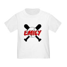 Emily Baseball T