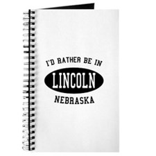 I'd Rather Be in Lincoln, Neb Journal
