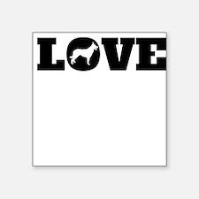 Border Collie Love Sticker