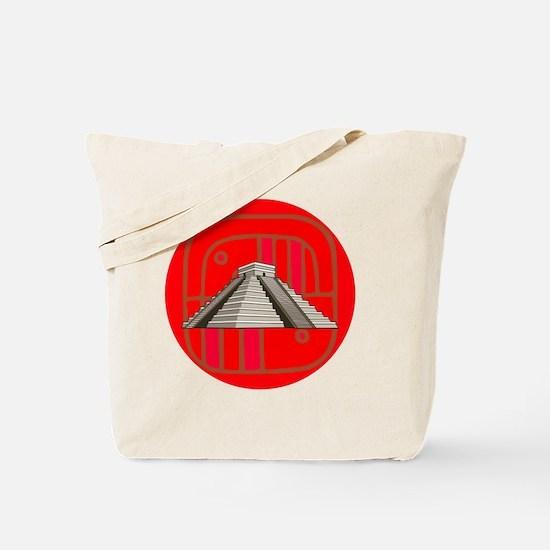 Maya pyramid Tote Bag