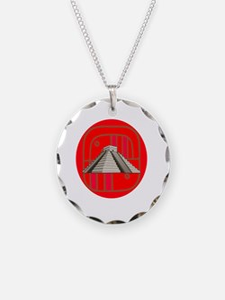 Maya pyramid Necklace