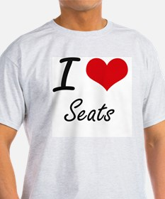 I Love Seats T-Shirt