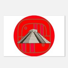 Maya pyramid Postcards (Package of 8)