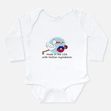 Cute Feeling it Long Sleeve Infant Bodysuit