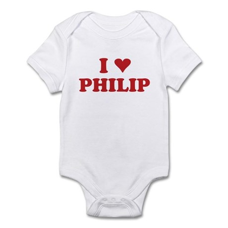 I LOVE PHILIP Infant Bodysuit