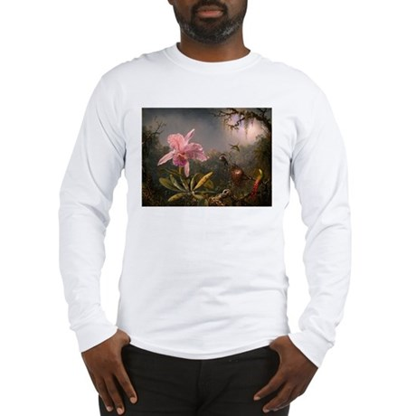 Humming Bird Midst Long Sleeve T-Shirt