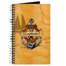 Captain Anchor And Wheel Journal