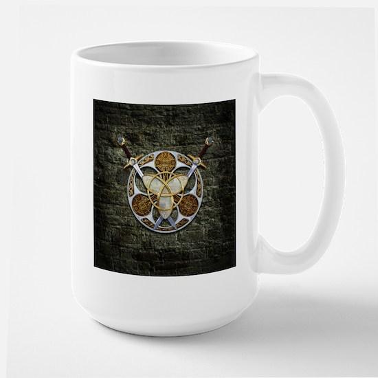 Celtic Shield and Swords Mugs