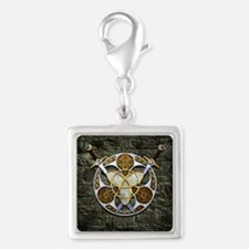 Celtic Shield and Swords Charms