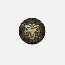 Celtic Shield and Swords Mini Button