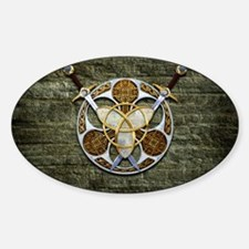Celtic Shield and Swords Decal