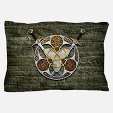 Celtic Shield and Swords Pillow Case