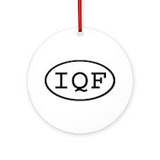IQF Oval Ornament (Round)