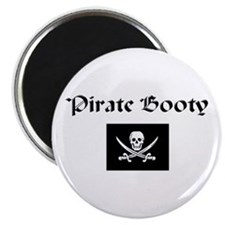 Pirate Booty Magnet