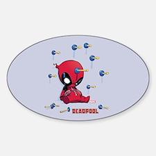 Deadpool Toy Darts Decal