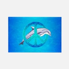 Dolphin Peace Magnets