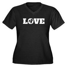 Chow Chow Love Plus Size T-Shirt