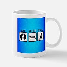 Eat Sleep Sail Mugs