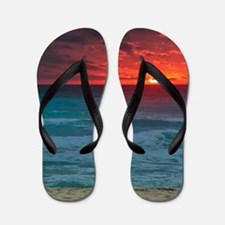 Sunset Beach Flip Flops