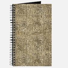 Egyptian Hieroglyphics Journal