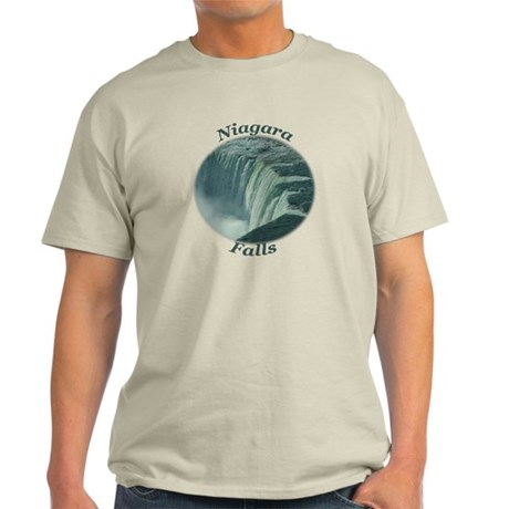 Niagara Falls NY Light T-Shirt