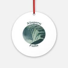Niagara Falls NY Ornament (Round)